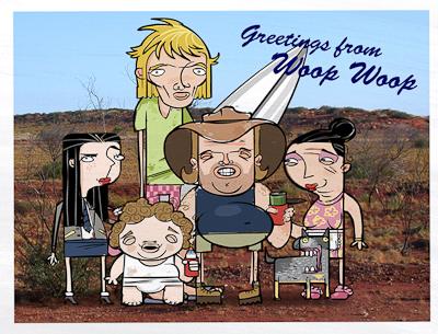 Woop Woop Character Designs