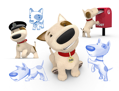 Fido Character Design and Online Animation